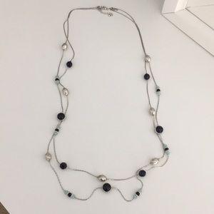 New York & Company Double Strand Necklace